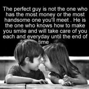 make u smile and take care of u